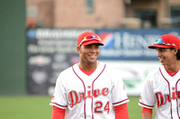 Professional debut of Yoan Moncada with Drive May 18, 2015