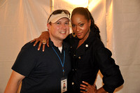 B93.7's Chase Murphy with Shontelle