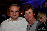 Peter Larocque with Wayne Gretzky