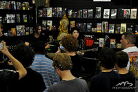 Sick Puppies at Earshot Records, and the Bi-Lo Center